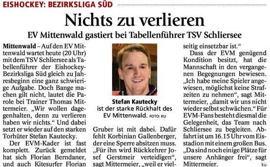 Vorbericht Schliersee 02.01.15